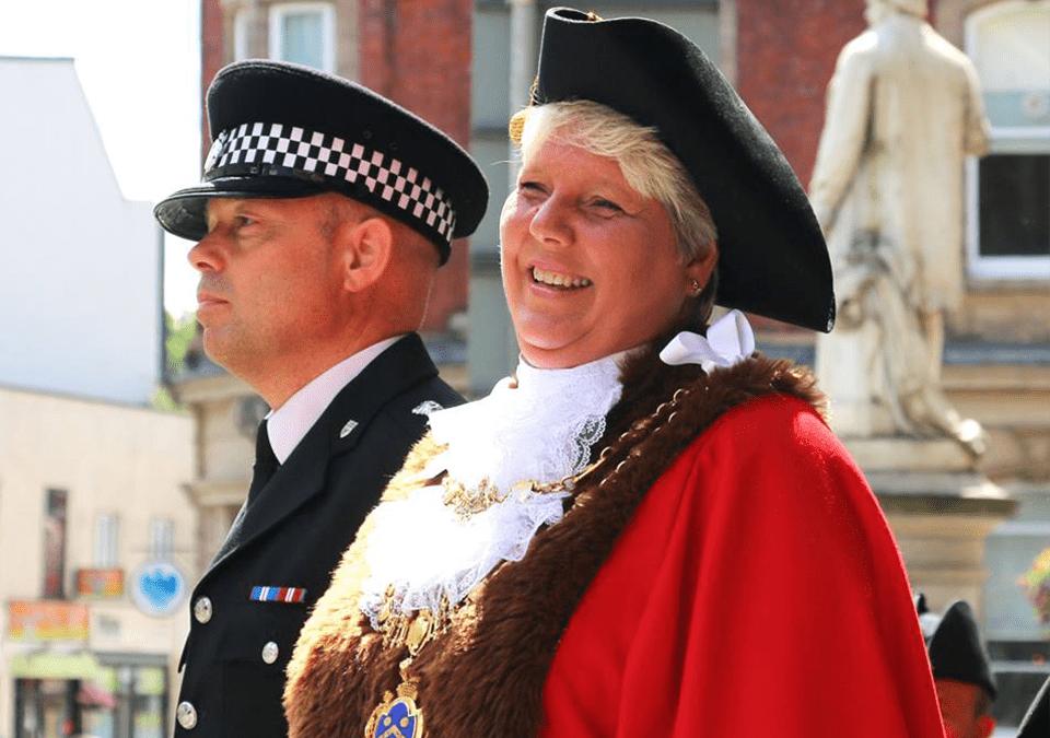 2017 Mayor: Councillor Gale